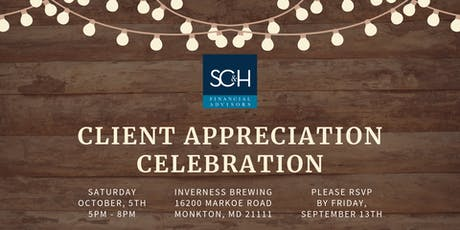 SC&H Financial Advisors Client Appreciation Event tickets