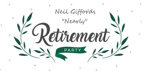 Neil Gifford's Retirement Party tickets