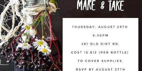 Elderberry Syrup Make & Take  tickets