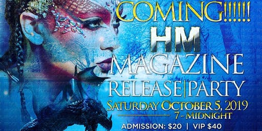 Hair-N-Motion Game of Thrones Magazine Release Party