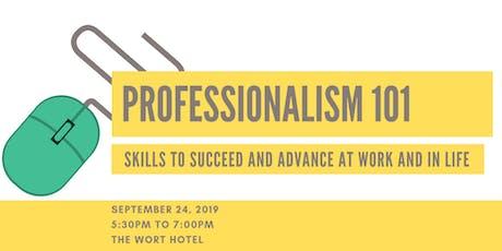 YPT Presents: Professionalism 101  tickets