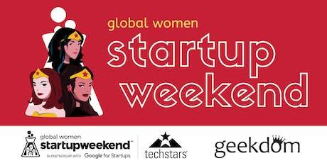 Techstars Startup Weekend Women San Antonio tickets