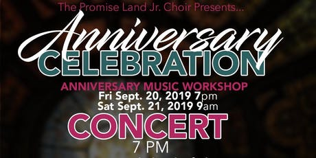 Jr. Choir Anniversary Celebration Workshop & Concert tickets