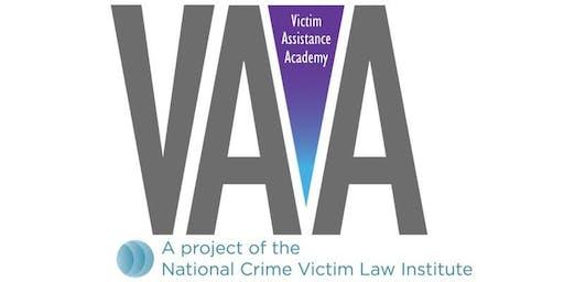 Oregon Advanced State Victim Assistance Academy - September 2019