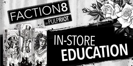 Pulp Riot Faction8 Advanced Edu PM class in Salina, KS tickets