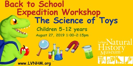 Expedition Workshop: The Science of Toys tickets