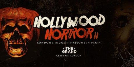 Hollywood Horror Halloween tickets
