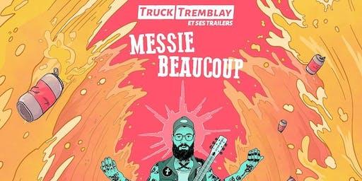 Truck Tremblay et ses trailers à La Baleine Endiablée