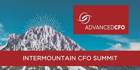 2019 Intermountain CFO Summit tickets