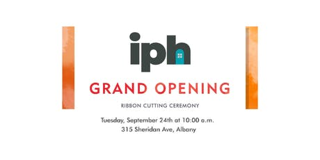 IPH Grand Opening tickets