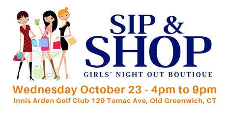 Sip & Shop Girls' Night Out Boutique tickets