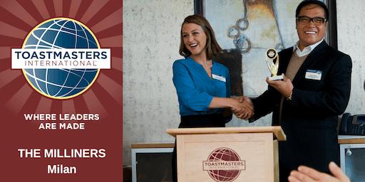 Learn Public Speaking. Milliners + Navigli District Toastmasters