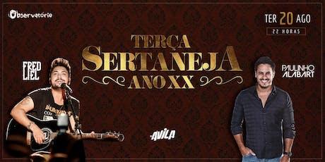 Terça Sertaneja - 20/08 ingressos