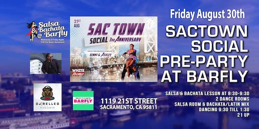 Pre-Party for Sac Town Social