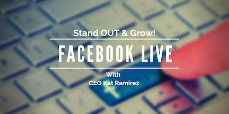 Facebook Live for Small Businesses tickets