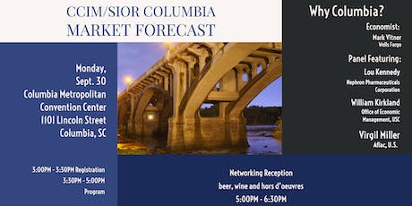 CCIM/SIOR Columbia Market Forecast tickets