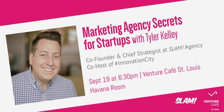 Marketing Agency Secrets for Startups tickets