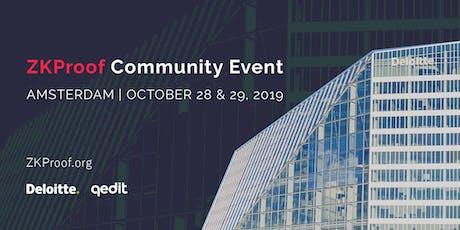 ZKProof Community Event: Amsterdam'19 tickets