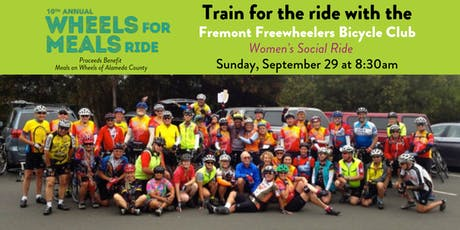 FREE Women's Social Training Ride for WFMR 2019 tickets