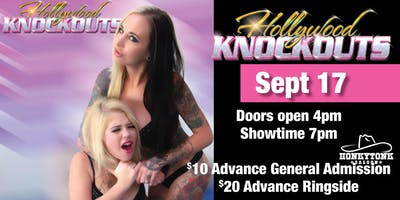 Hollywood Knockouts Oil Wrestling at HonkyTonk Saloon