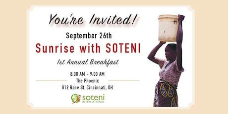 Sunrise with SOTENI, 1st Annual Breakfast tickets