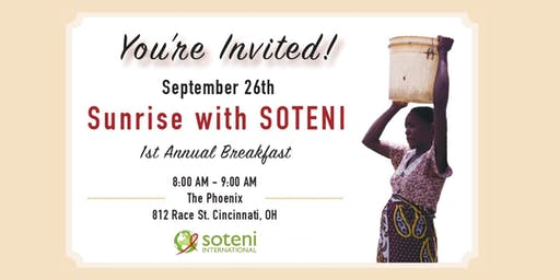 Sunrise with SOTENI, 1st Annual Breakfast