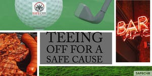Teeing off for a  SAFE Cause