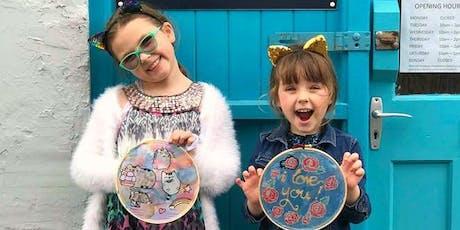 Children's Craft Workshop: Silk Painting in Trowbridge, Wiltshire tickets