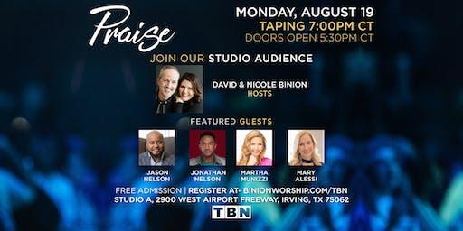 Martha Munizzi, Mary Alessi, Jason & Jonathon Nelson Live for TBN Praise!