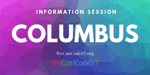 Columbus Coding IN-PERSON ONLY Bootcamp Information Session