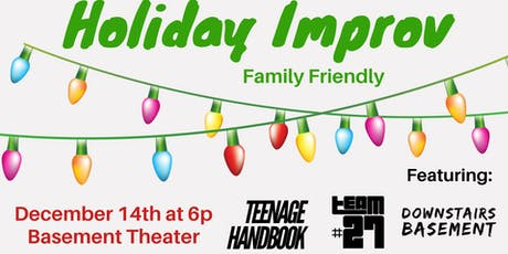 Holiday Improv - Family Friendly Show tickets