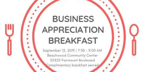 Beachwood Business Appreciation Breakfast tickets