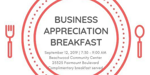 Beachwood Business Appreciation Breakfast