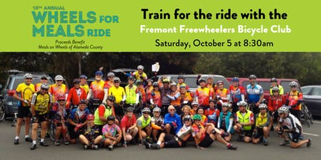 FREE Training Ride for WFMR 2019 tickets