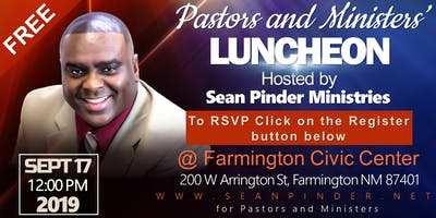 Farmington Pastors Luncheon