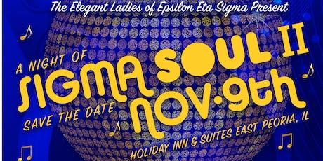 A Night of  Sigma Soul II tickets