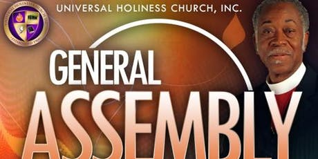 UHC 2019 General Assembly tickets
