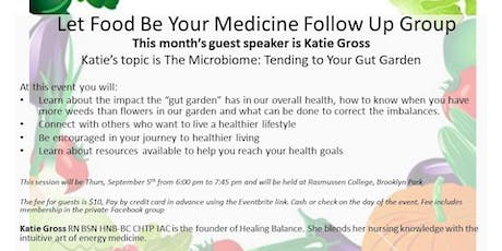 9-5-19 Let Food Be Your Medicine Follow Up Group tickets