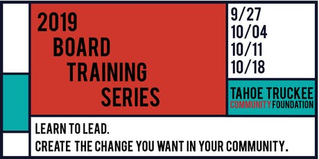 TTCF Board Training Series 2019 tickets