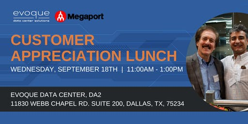 Customer Appreciation Lunch - Dallas