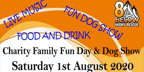 8 Below Husky Rescue Charity Camp And Fun Day tickets