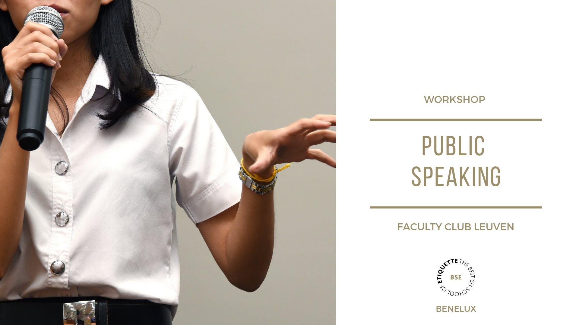 Spreken voor Publiek - Public Speaking inclusief netwerklunch