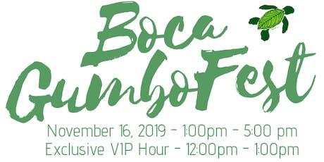 Boca GumboFest 2019 tickets