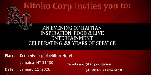 Kitoko Corp. 35 Years of Service Benefit Event!
