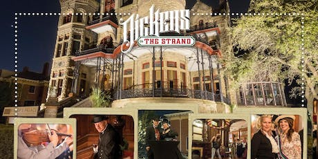 The Dickens Soiree at Bishop's Palace : Dickens on The Strand tickets
