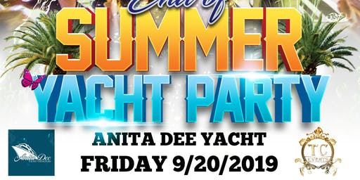 End Of Summer Yacht Party