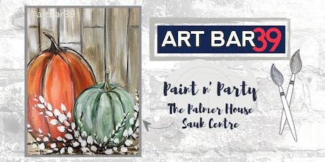 Palmer House Public Event | Art Bar 39 | Rustic Pumpkins tickets