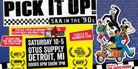 Screening: Pick it up- Ska in the 90s with live music from The Collection tickets