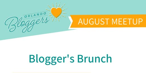 Orlando Bloggers August Meetup