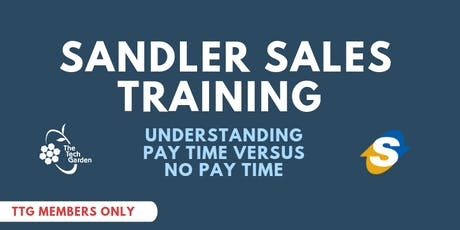 Sandler Sales Training: Understanding Pay Time vs. No Pay Time tickets